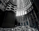 Mikhael Subotzky and Patrick Waterhouse, Cleaning the Core, Ponte City, Johannesburg 2008