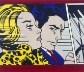 Oil and magna on canvas National Galleries of Scotland purchased 1980. Estate of Roy Lichtenstein/DACS 2015