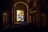 Rachel Maclean, Spite Your Face, installation view courtesy Talbot Rice Gallery